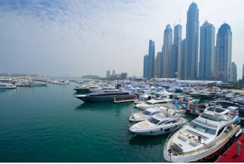 Promotional operation in Dubai at the International Boat Show