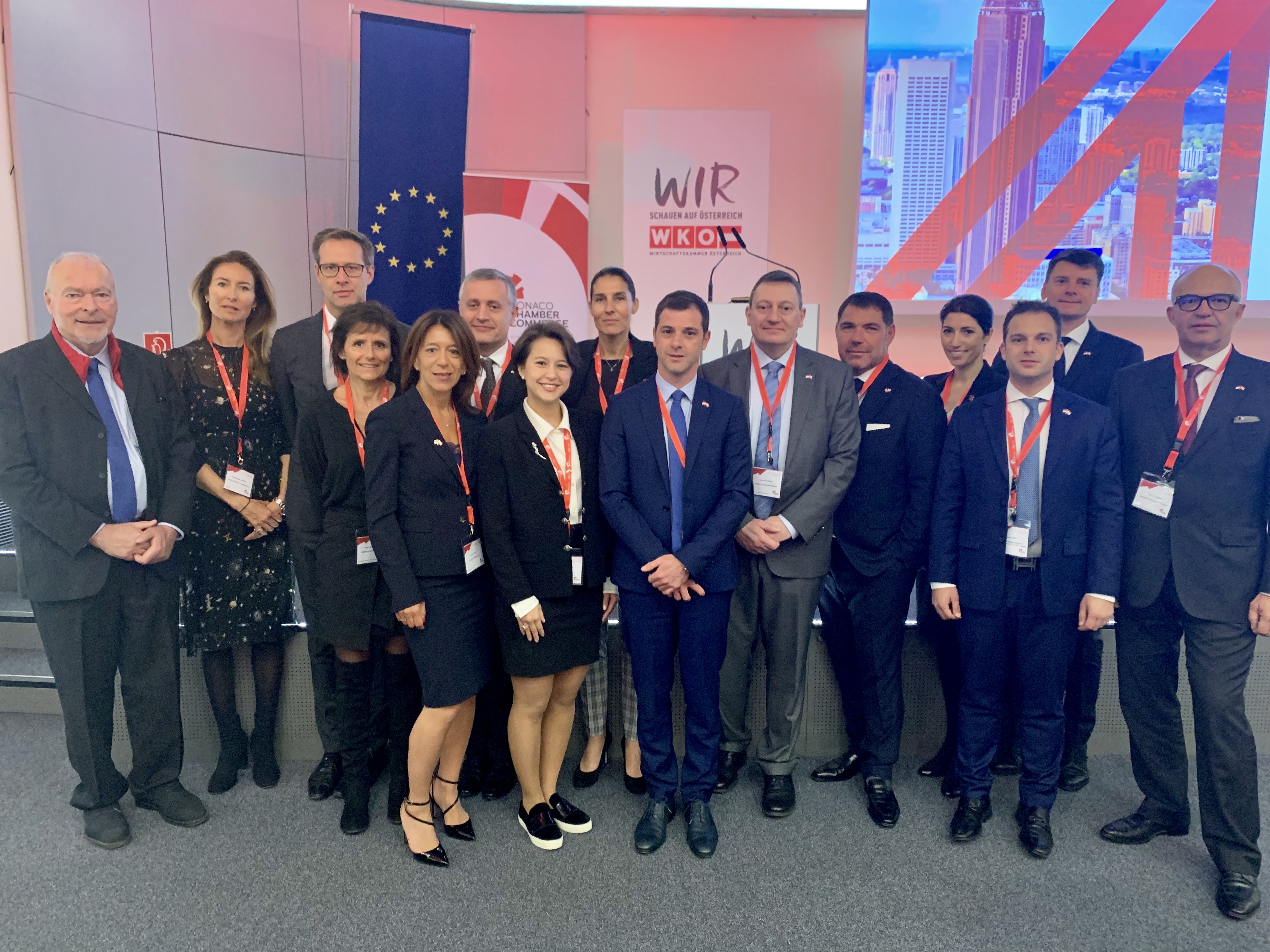 Trade Mission to Vienna : successes on various fronts
