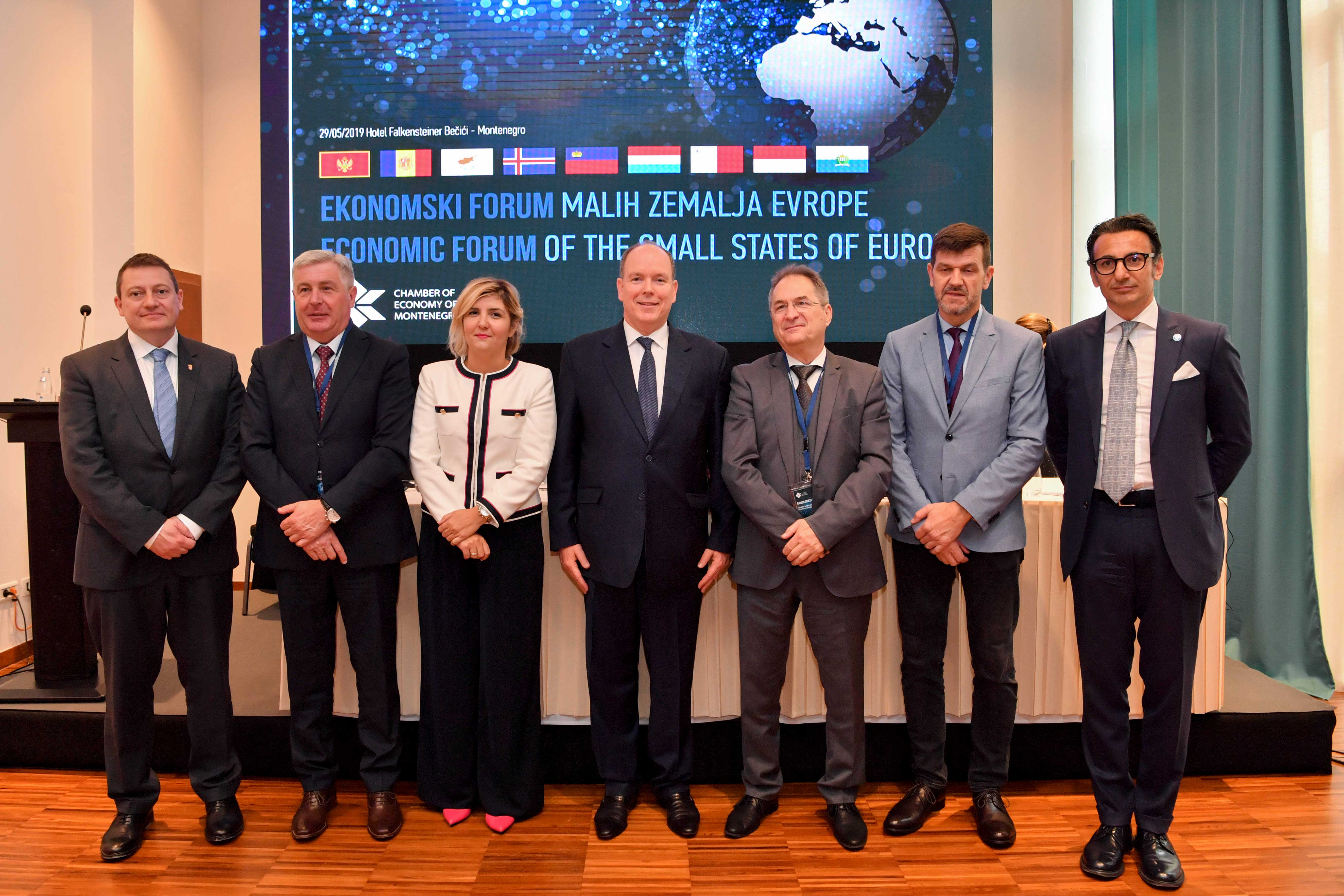 New impetus behind business relations between Monaco  and the Small States of Europe