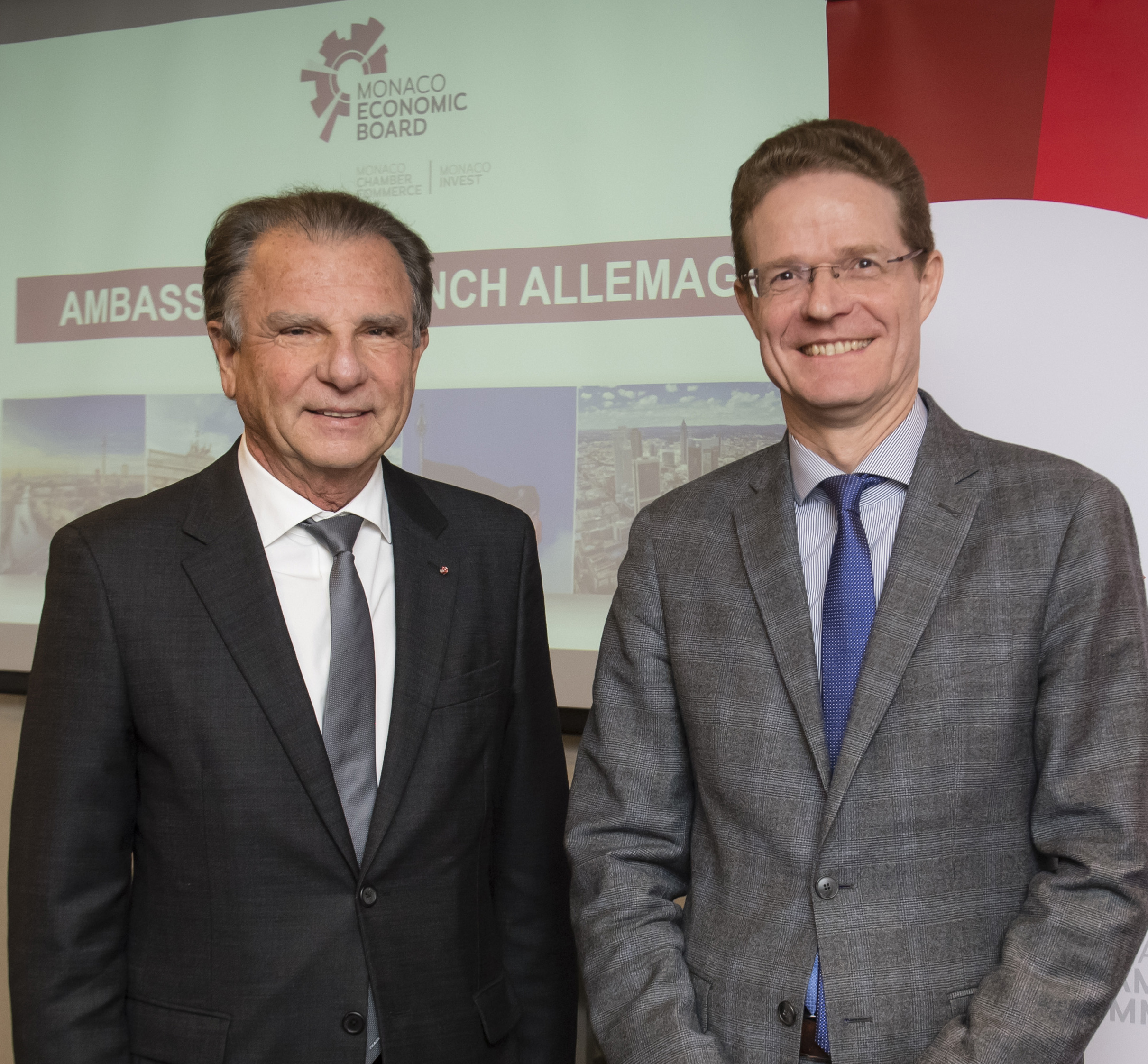 MEB Ambassador's Lunch: Germany highlights its advantages