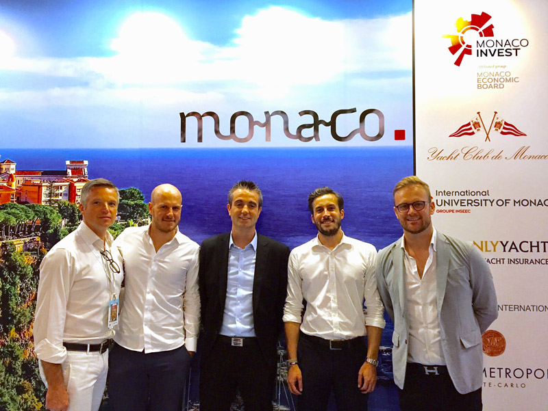 Monaco Invest meets MBE members at the Singapore Yacht Show