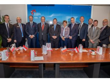 MEB hosts delegation of entrepreneur members  of the Polish Coalition for Innovation